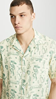 NIKBEN La Cucaracha Button Up Shirt