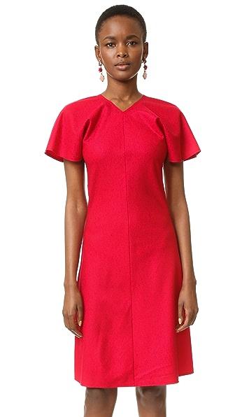 Nina Ricci Stretch Flannel Dress