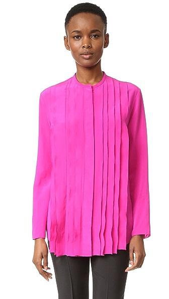 Nina Ricci Блуза со складками спереди