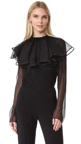 Nina Ricci Блуза со съемным воротником