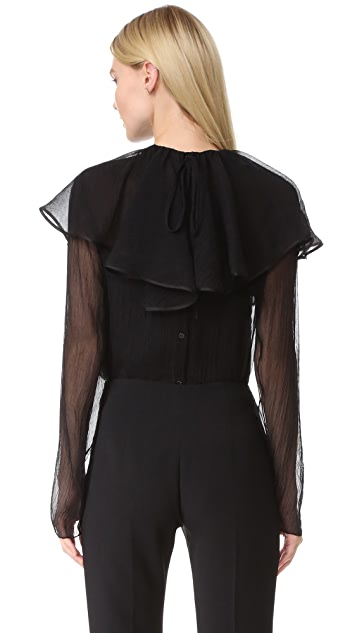 Nina Ricci Blouse with Removable Collar