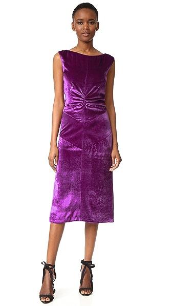 Nina Ricci Sleeveless Cocktail Dress - Purple
