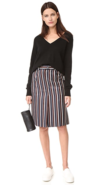 Nina Ricci Striped Skirt
