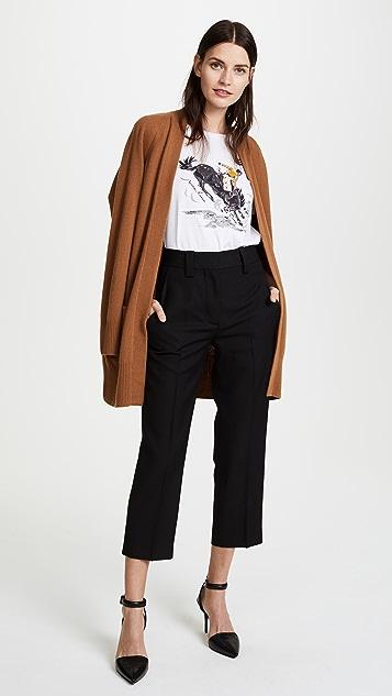 Nina Ricci Graphic Jersey Tee