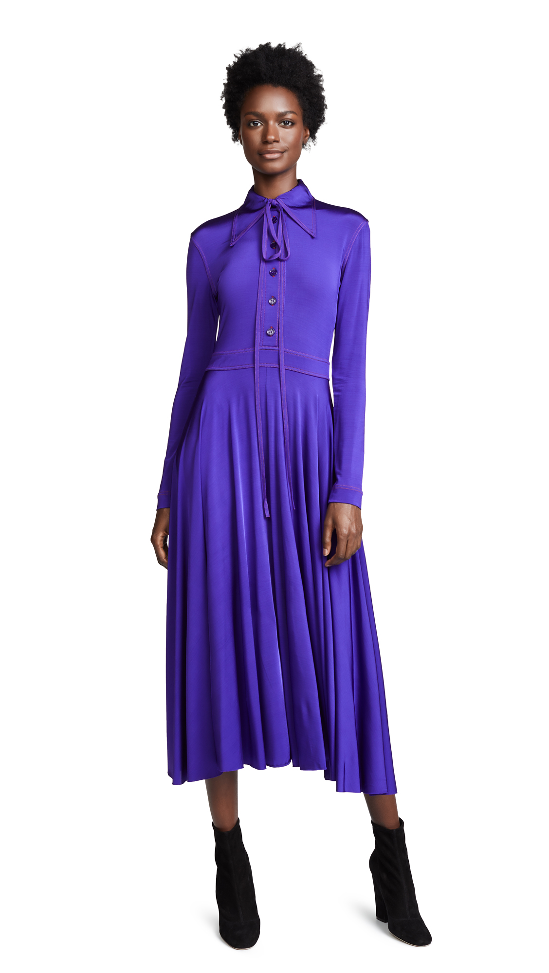 Nina Ricci Shirtdress - Purple
