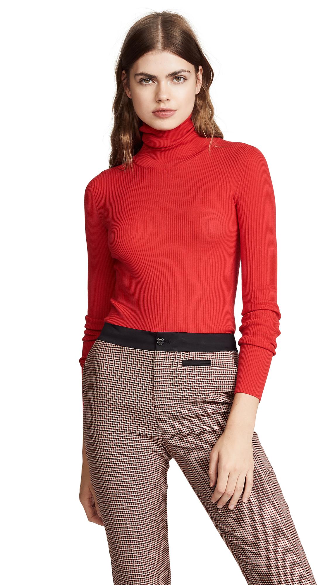 Nina Ricci Rib Sweater - Red