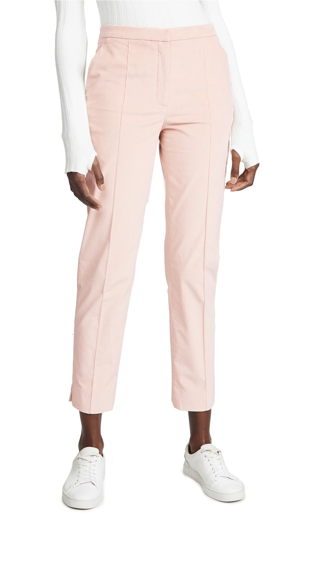 Nina Ricci Straight Leg Trousers - Powder Beige