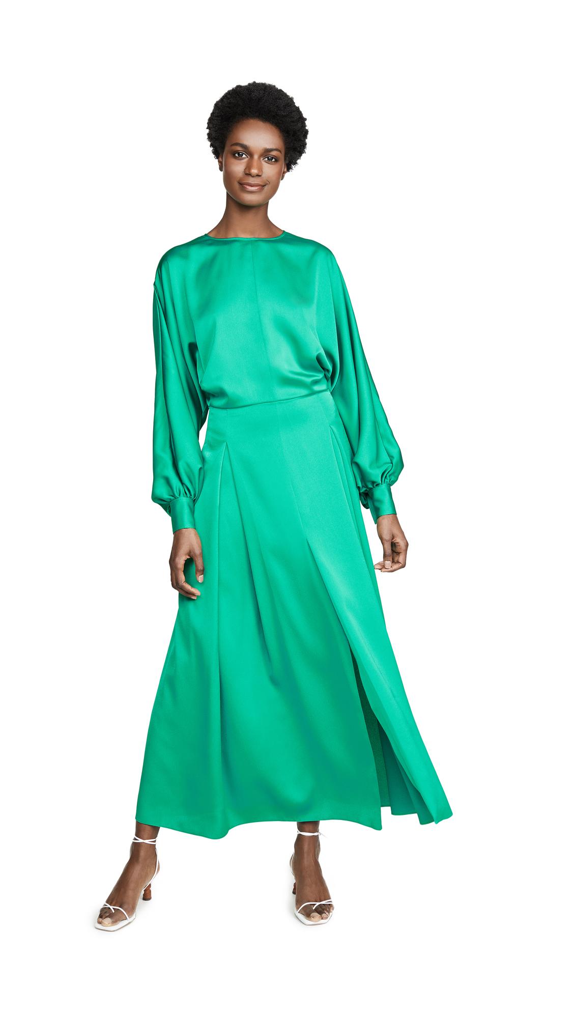 Nina Ricci Batwing Dress - Green