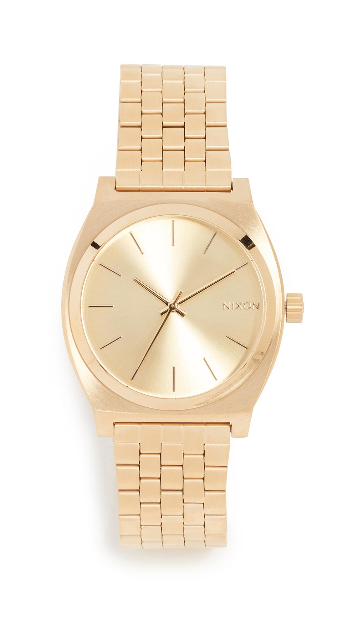 Nixon Time Teller Watch - Gold