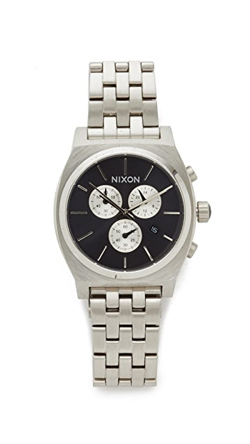 Nixon The Time Teller Chronograph Watch