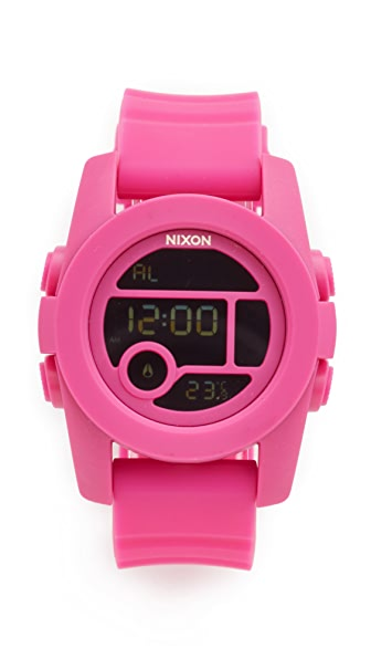 Nixon The Unit 40 Watch - Magenta