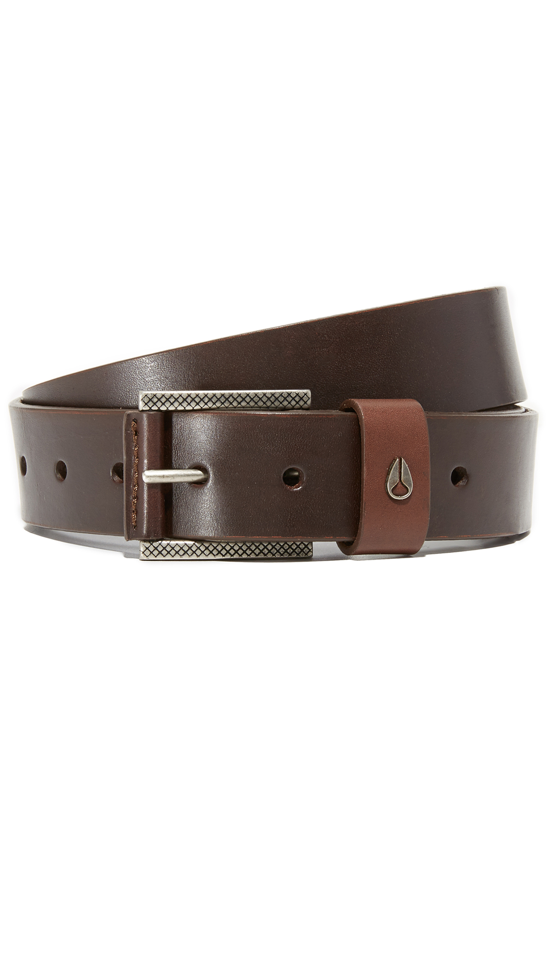 Nixon Belts AMERICANA SLIM LEATHER BELT
