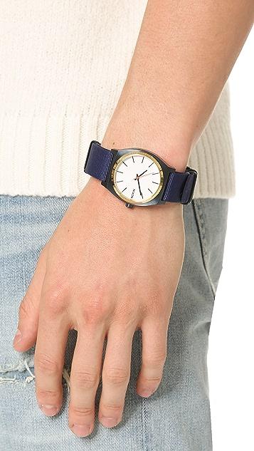 Nixon Time Teller Nato Strap Watch
