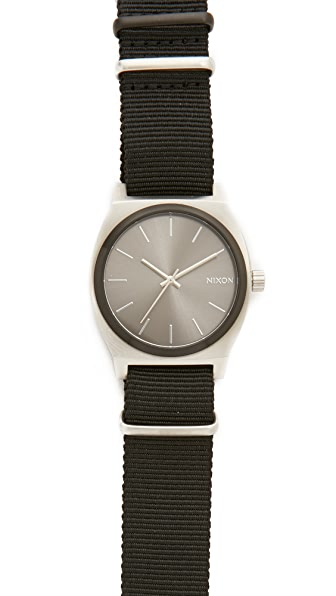 Nixon Time Teller Nato Strap Watch