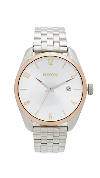 Nixon The Bullet Watch - Silver/Gold/Rose Gold