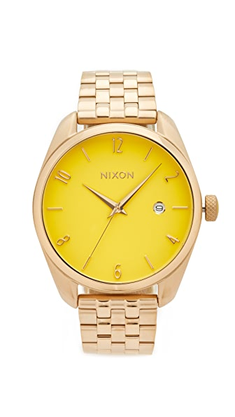 Nixon The Bullet Living Colour Watch - Gold/Yellow
