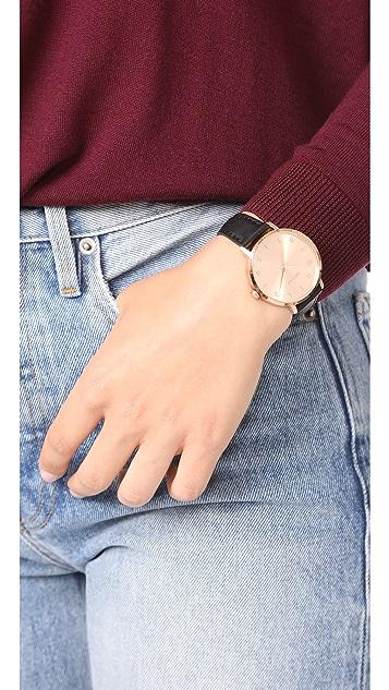 Nixon The Arrow Leather Watch