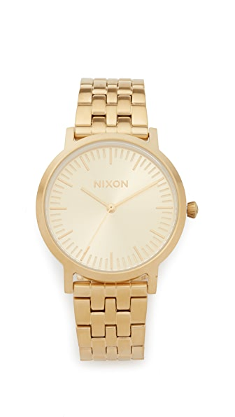 Nixon The Porter Watch, 35mm In Gold