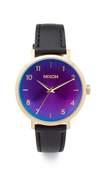 Nixon The Arrow Leather Watch, 38mm