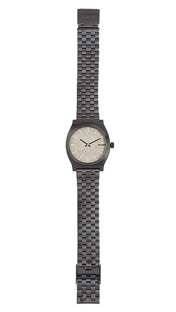 Nixon Time Teller Concrete Watch, 40mm