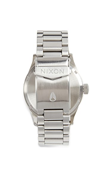 Nixon Sentry Stainless Steel Watch, 42mm