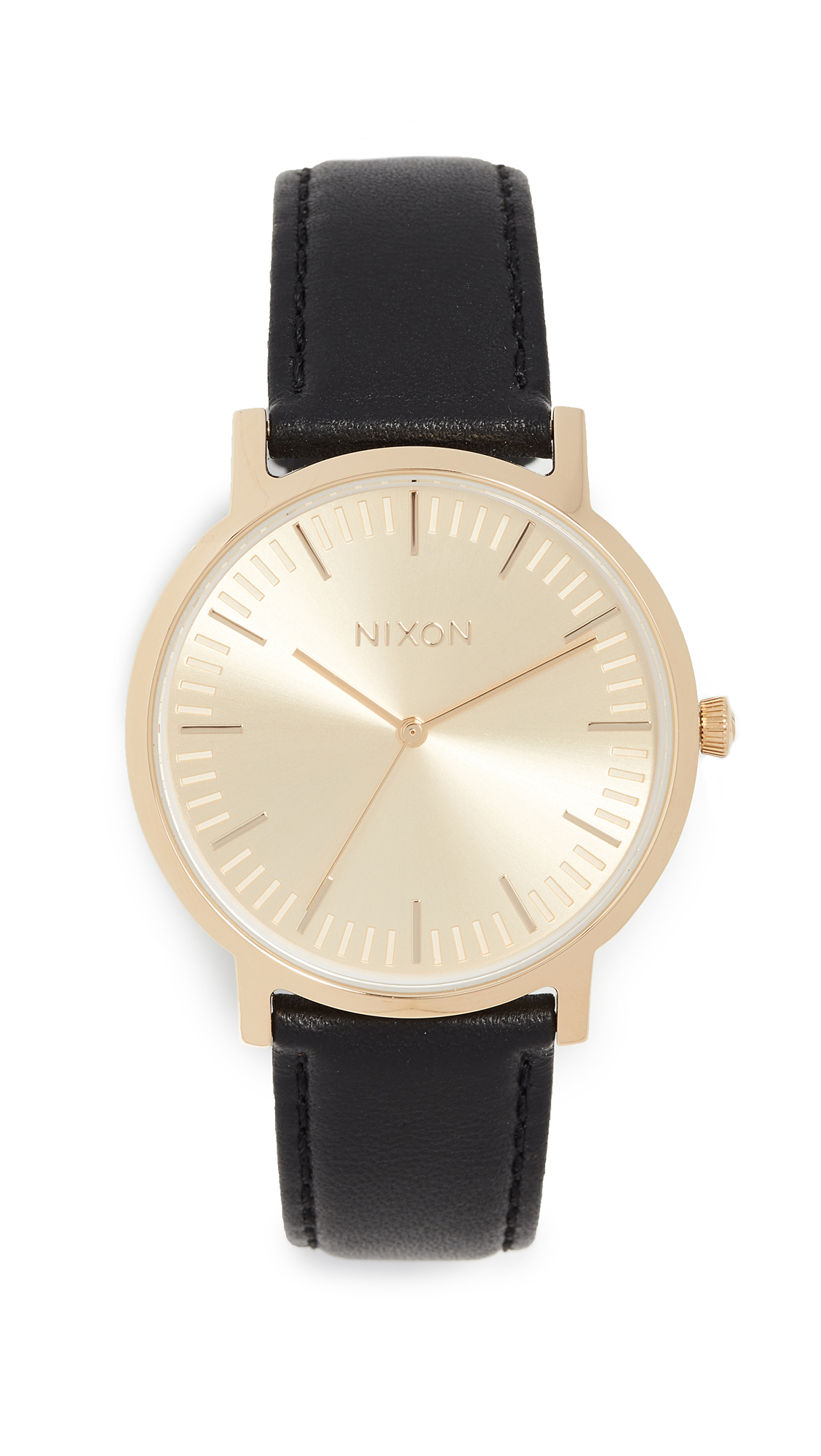 PORTER LEATHER WATCH, 41MM