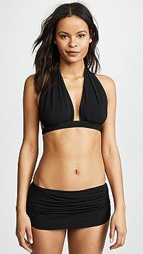 Norma Kamali Halter Bikini Top