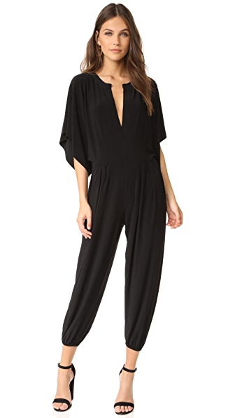 Norma Kamali Kamali Kulture Rectangle Jumpsuit - Black