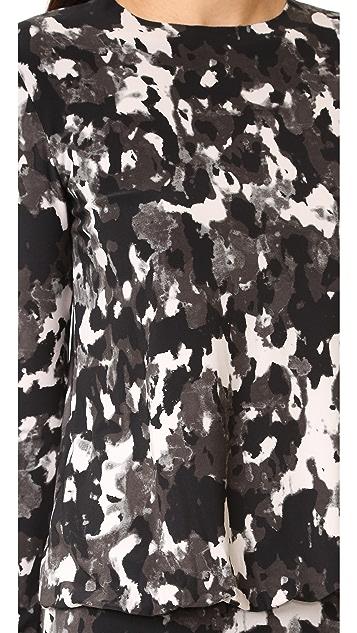 Norma Kamali Babydoll Dress