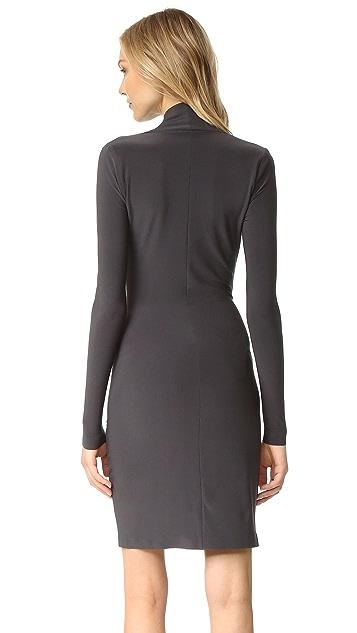 Norma Kamali Kamali Kulture Modern Slide Drape Dress
