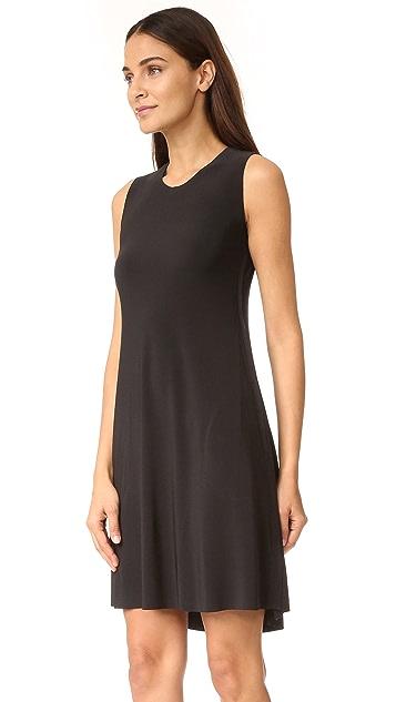 Norma Kamali Kamali Kulture Sleeveless Swing Dress