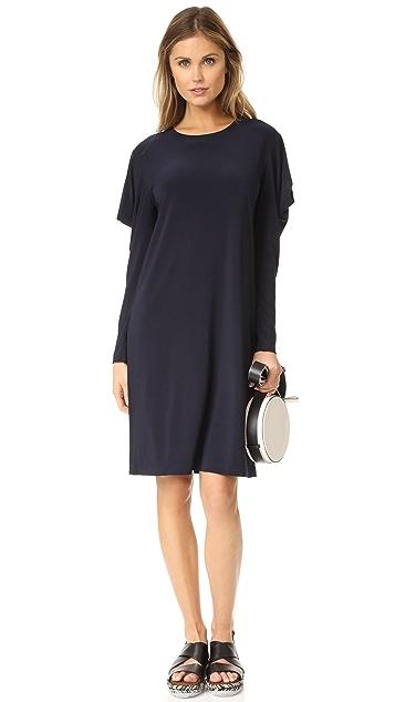 Norma Kamali Wing Sleeve Dress