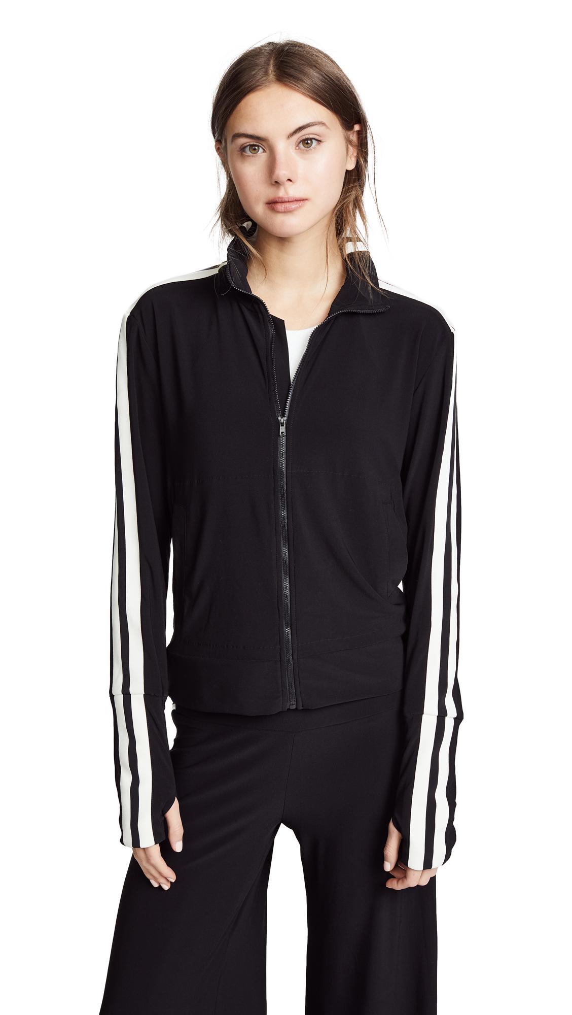 Buy Norma Kamali Side Stripe Turtle Track Jacket online beautiful Norma Kamali Jackets, Coats, Coats