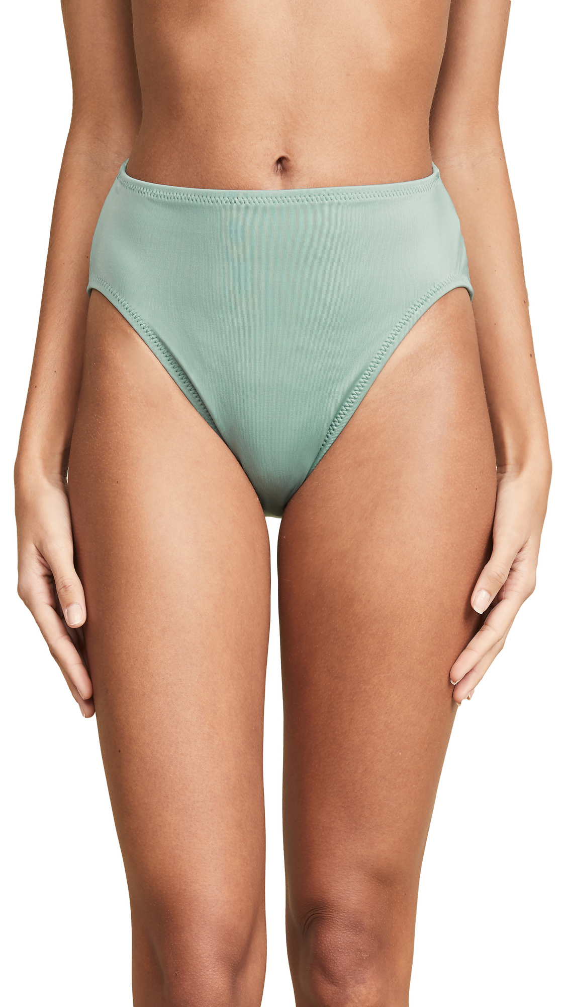 Norma Kamali Underwire Bottoms - Moss