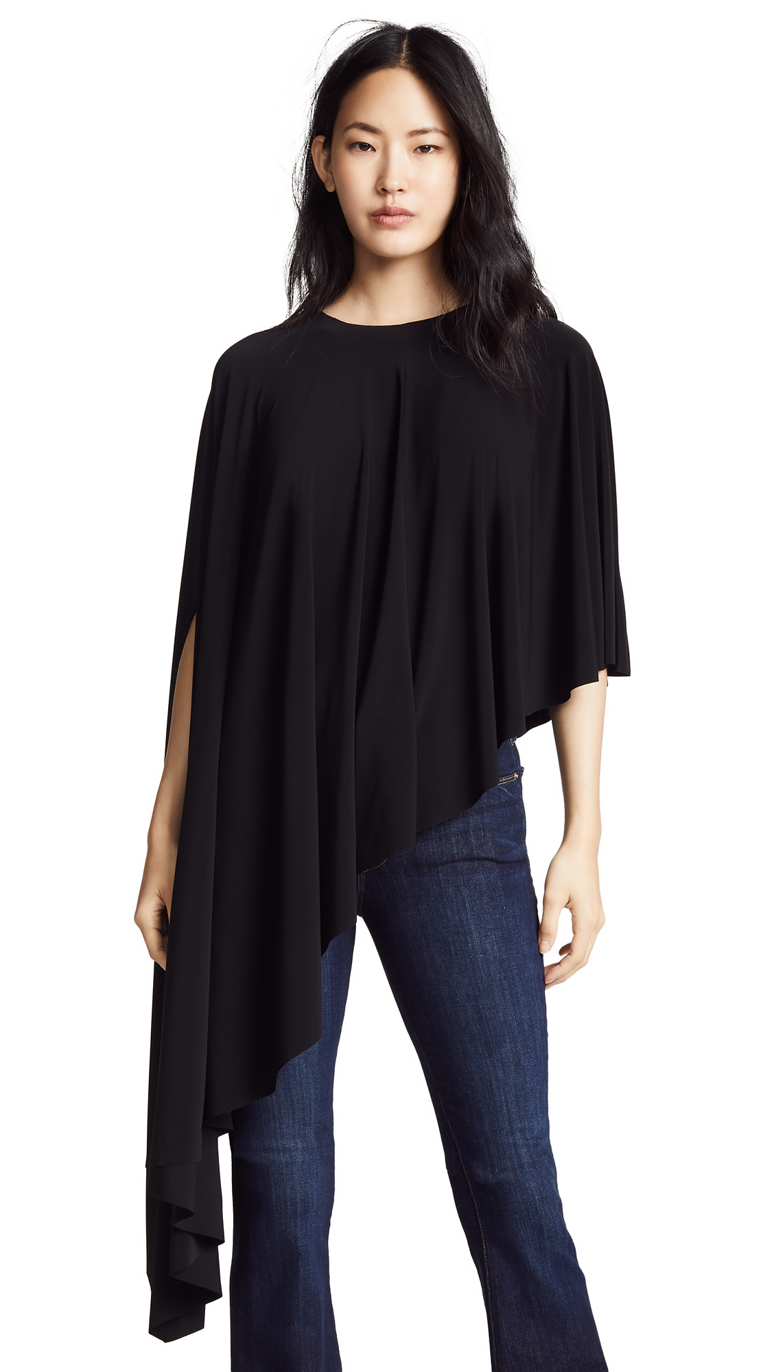 Norma Kamali Asymmetric Top - Black