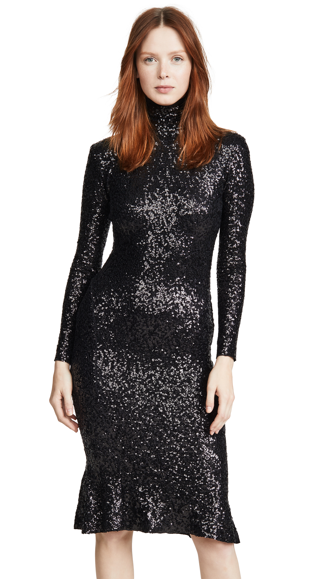 Buy Norma Kamali online - photo of Norma Kamali Sequin Fishtail Dress