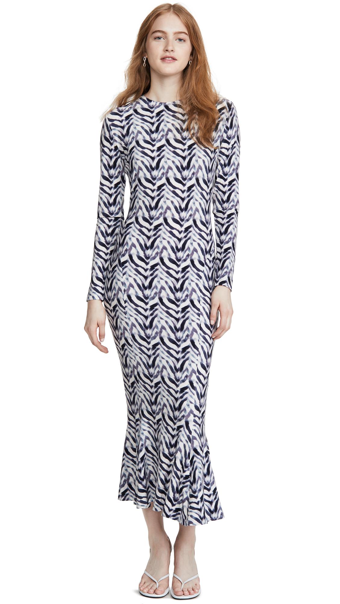 Buy Norma Kamali Long Sleeve Fishtail Dress online beautiful Norma Kamali Clothing, Dresses
