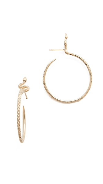Nora Kogan Sones Hoop Earrings - Gold