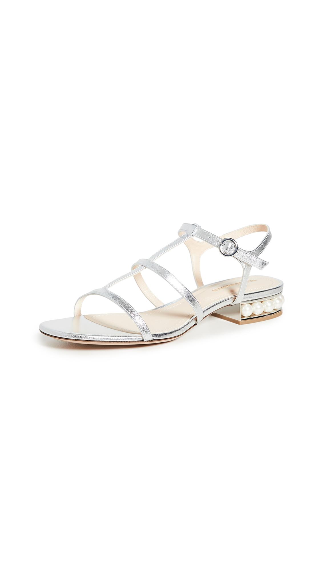 Buy Nicholas Kirkwood Casati Strap Sandals online, shop Nicholas Kirkwood