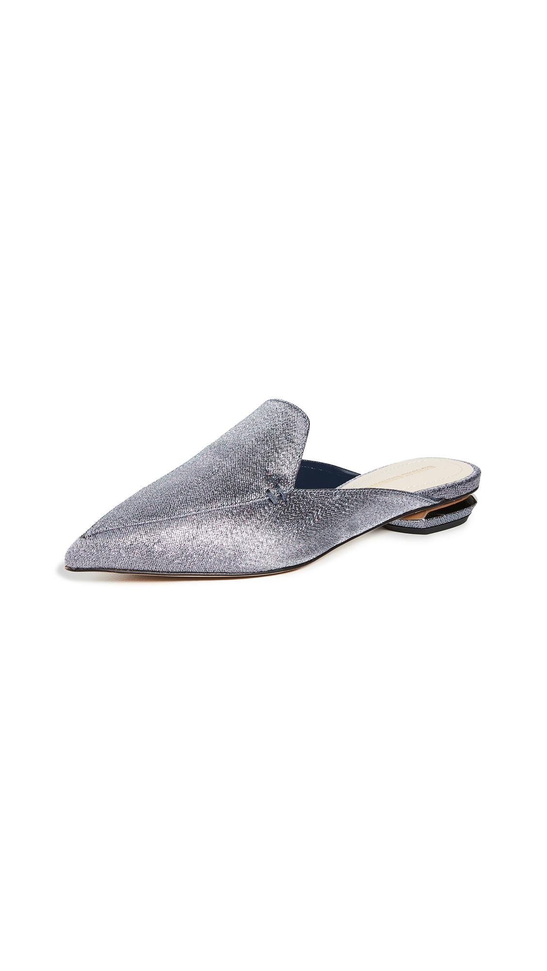 Nicholas Kirkwood Beya Flat Mules – 50% Off Sale