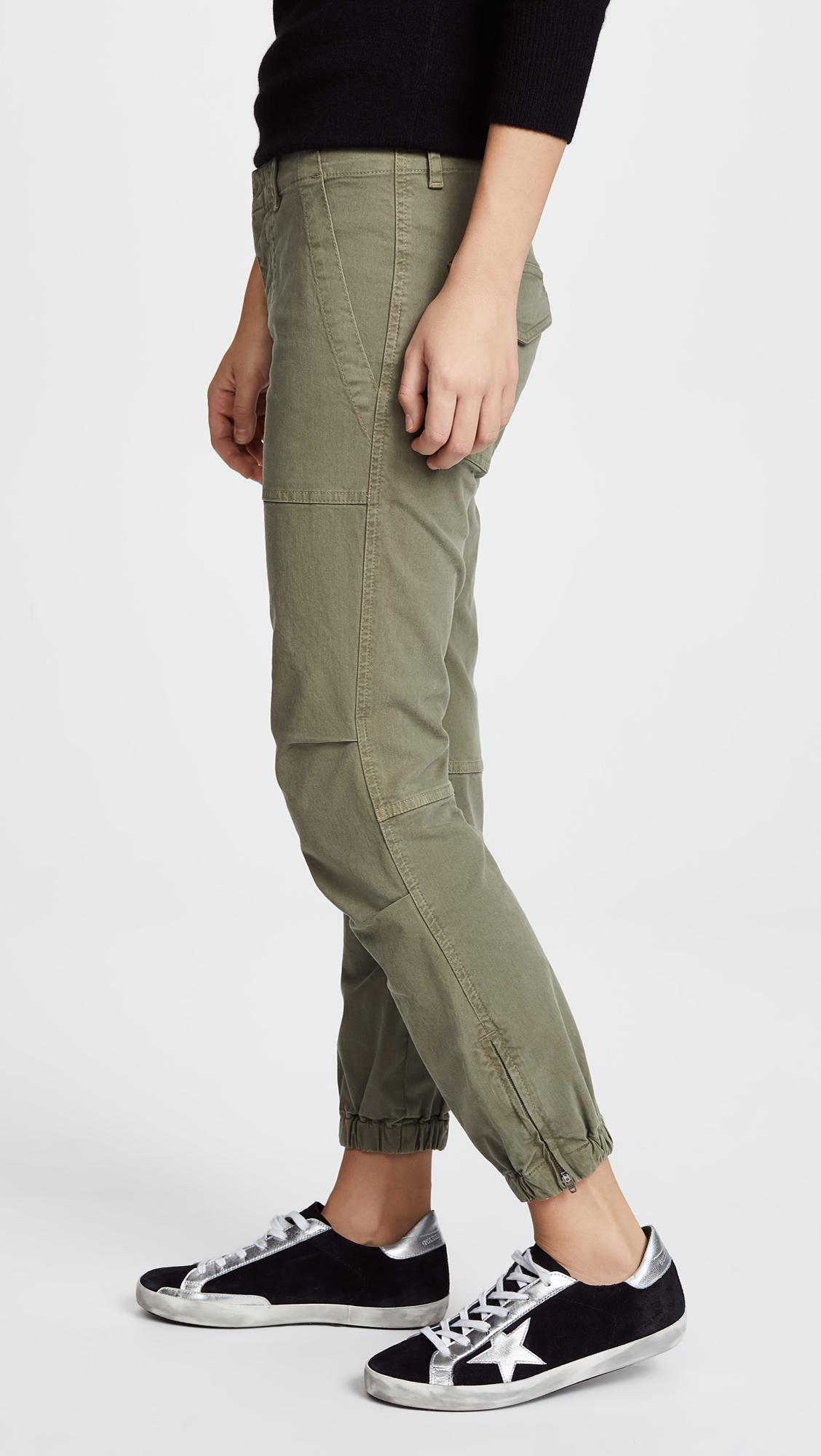franceses cargo cultivo de militar Nili para Lotan Pantalones mujer qACa1wC
