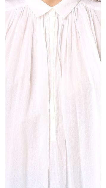 Nili Lotan Short Sleeve Normandy Blouse