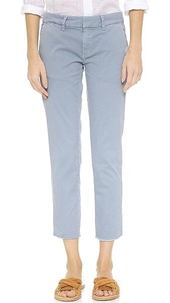 East Hampton Stretch-Cotton Trousers