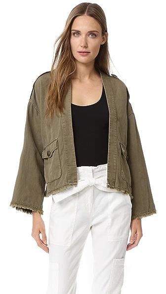 Nili Lotan Military Kimono Jacket