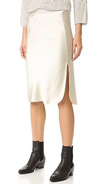 Nili Lotan Lillie Skirt - Vintage Ivory