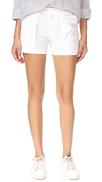Nili Lotan Utility Shorts - White