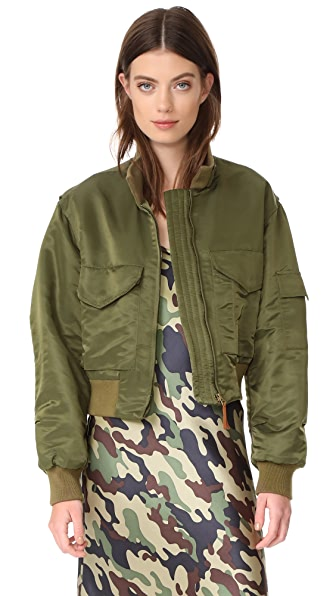 Nili Lotan Mcguire Jacket - Army Green