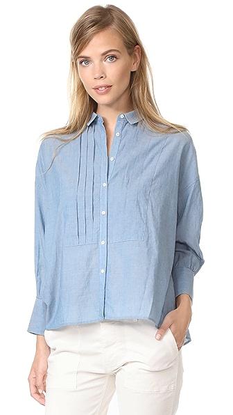 Nili Lotan Hudson Shirt - Blue