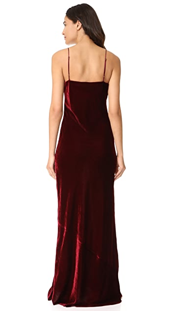 Nili Lotan Sasha Maxi Slip Dress