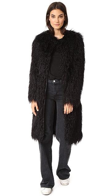 Nili Lotan Moxie Faux Fur Coat
